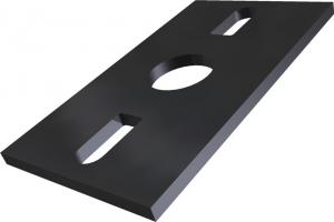Elastische Schienenlager-Komponenten