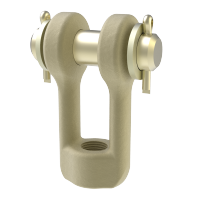 Threaded clevis type 61