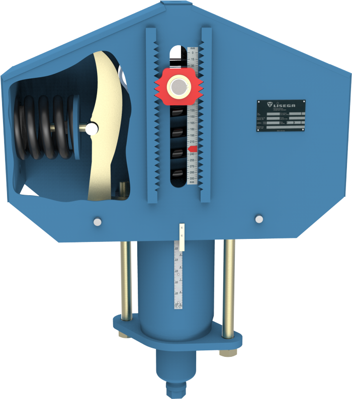 Load Indicator Pipe Hanger : Lisega constant hangers and supports