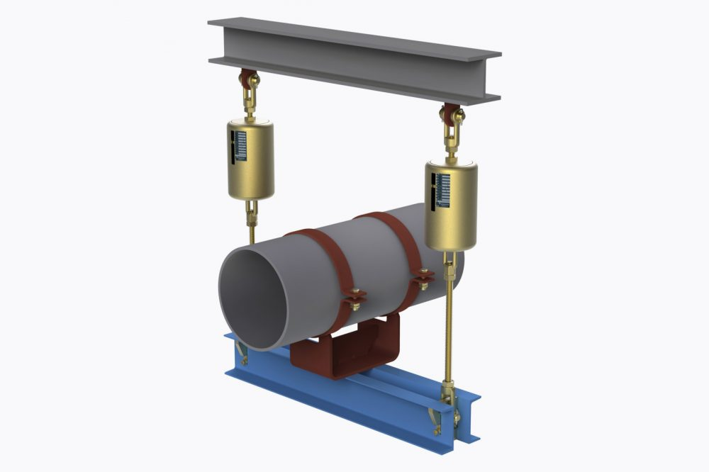 Load Indicator Pipe Hanger : Lisega spring hangers and supports for pipe systems