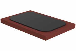 Slide plate for welding type 70