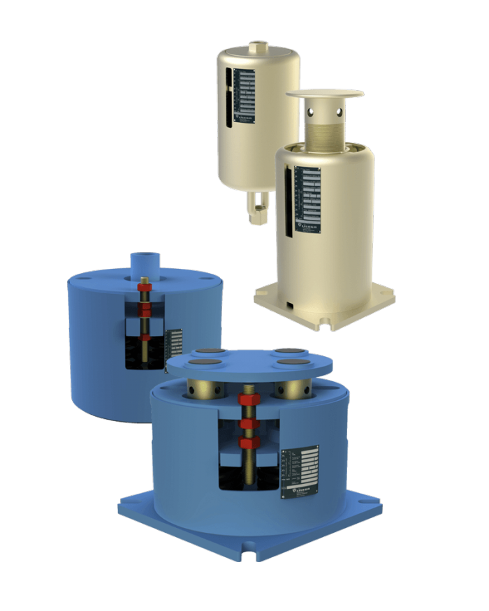 Load Indicator Pipe Hanger : Lisega pipe supports performance with system