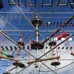 m.connect Zugstabsysteme im Hochseilgarten Oberhof