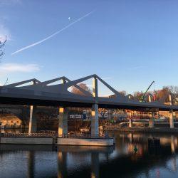 m·connect – Einsatz Edelstahlsysteme für Neckarbrücke Stuttgart