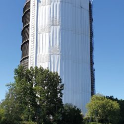 Calenberg – Cisilent® Type E for the gasometer project in Oberhausen, Germany
