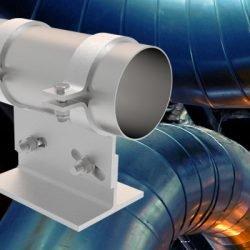 Die neuen höhenverstellbaren Rohrlager von LISEGA: effektiv, hoch flexibel und sicher